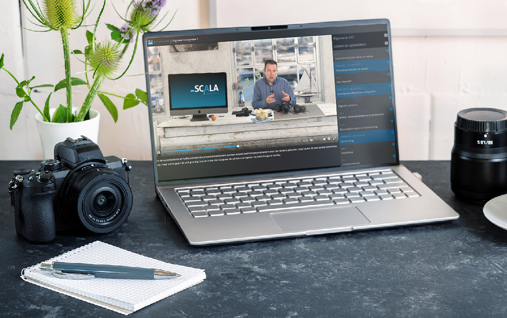 Online cursus Digitale Fotografie 1 in CVO Scala